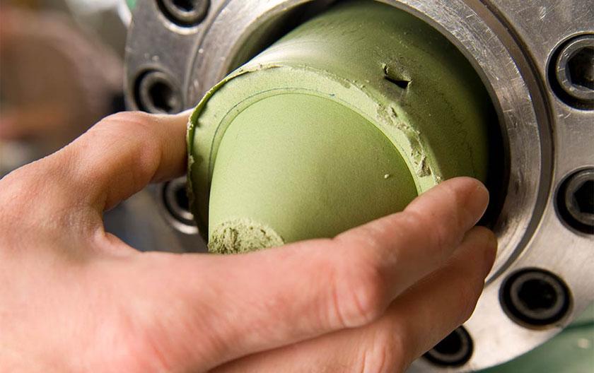 Extrusion de silicone conducteur