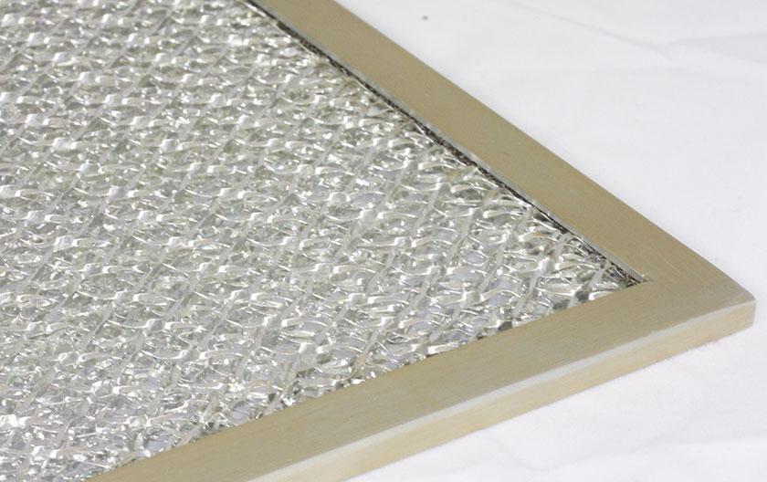 Grilles de ventilation EMI avec filtre anti-poussière aluminium