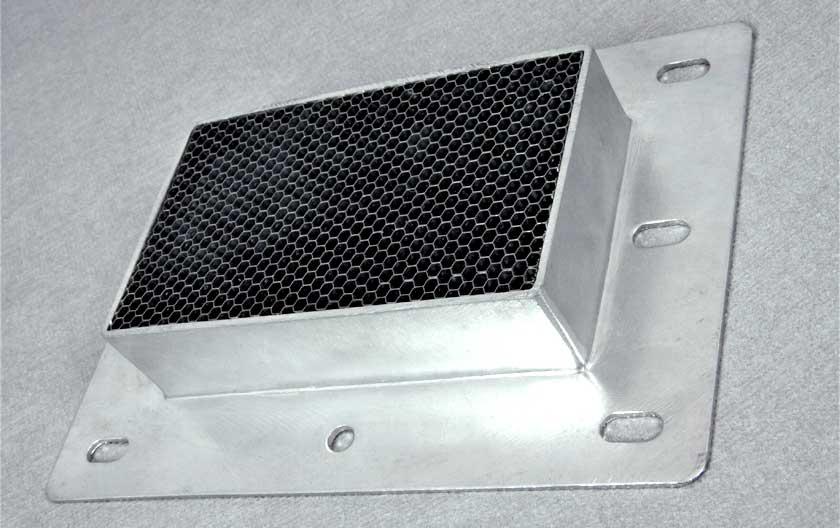 Grille de ventilation EMP en acier