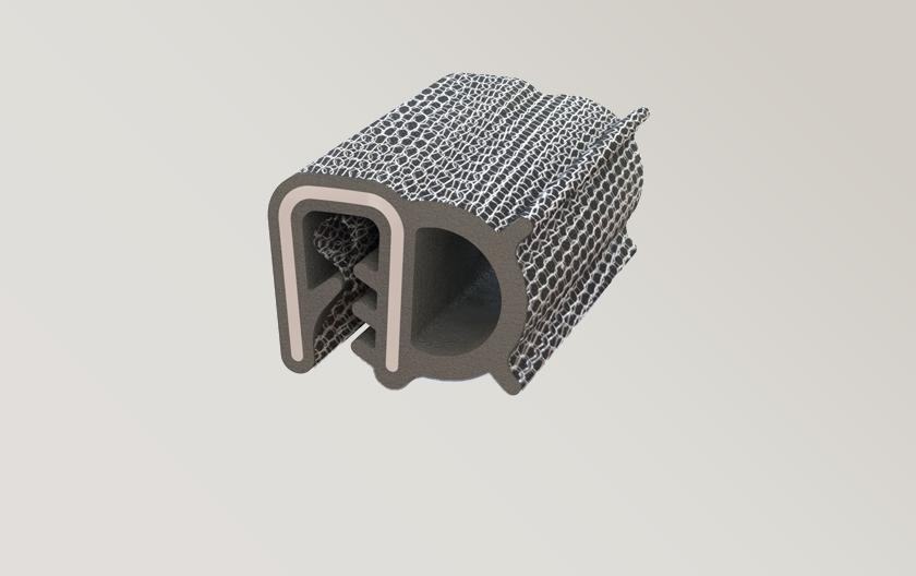 Joint linéraire clipsable avec tricot métallique
